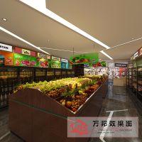 蔬果超市效果图